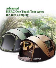 Automatic Large Family Tent 5-6 People Camping Throwing Pop Up Second Open Tent   Sporting Goods, Outdoor Sports, Camping & Hiking   eBay!