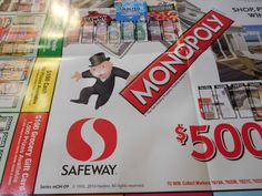 photo about Albertsons Monopoly Game Board Printable referred to as 15 Most straightforward Albertsons Monopoly 2019 photos Recreation elements