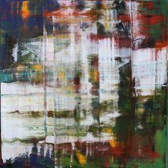 abstract 1034 [Autumn I], Oil on canvas, Koen Lybaert #art, #abstract