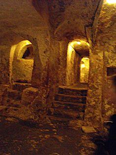 Catacombs on Malta