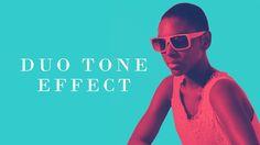 Duo tone effect