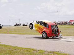 Drag 2006 PT Cruiser ! Weird Cars, Crazy Cars, My Dream Car, Dream Cars, Carros Retro, Chrysler Pt Cruiser, Cute Cars, Car Humor, My Ride