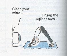 Yoga Pose truth. BiteSizeWellness.com