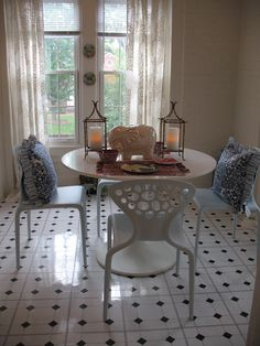 Chinoiserie Chic: My Daughter's Chinoiserie Apartment - The Dining Room
