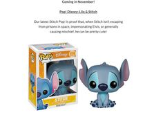 I would like this SPECIFIC Stitch Please.  He comes out in November!