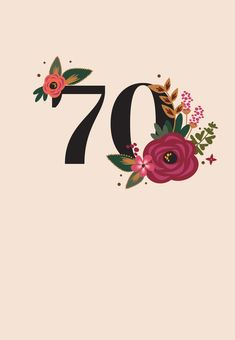 70th Birthday Card, Fall Birthday, Happy Birthday, Pastel, Congratulations, Birthdays, Neon, Invitations, Notes