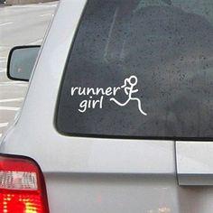 Runner Girl RUNNERDecal