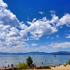 Lake Tahoe - CA South Lake Tahoe Ca, Just Breathe, Mountain Range, Places Ive Been, To Go, Relax, Clouds, Spaces, World