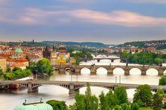 Praha on suosittu kaupunkikohde.