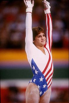 American girl - Mary Lou Retton winner 1984