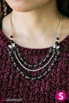 Miss Magnificent Black Necklace