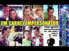 Jim Carrey Mimic Garth van Rooyen - JIM CARREY IMPRESSIONS - Funny Jim C...