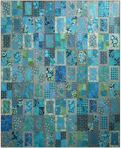 Rear Window Quilt Pattern Blue Underground Studios DIY Quilting Sewing. $10.00, via Etsy.