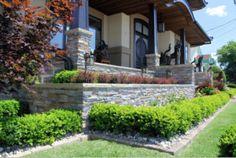 Réalisations - Maître Paysagiste - Aménagement paysager au Québec Patio Pergola, Sidewalk, Mansions, House Styles, Home, Decor, Gardens, Landscape Planner, Decoration