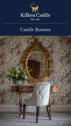 Sleep as a King or Queen would in our elegant and spacious Castle Rooms. Castle Hotels In Ireland, Castles In Ireland, Castle Rooms, Castle Bedroom, Lodge Bedroom, Fairytale Weddings, 12th Century, Lodges, Bedrooms