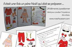 Noël approche... préparation du calendrier!! |    Aide le père Noël à se préparer.