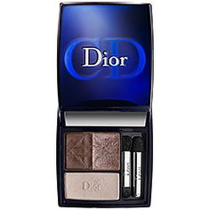 Dior - 3 Couleurs Smoky Ready-To-Wear Smoky Eyes Palette in 571 Smoky Nude - chocolate brown/ sparkling tan/ ivory cream  #sephora