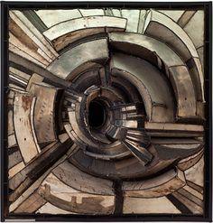 "Lee Bontecou ""Untitled"". 1962 Canvas, welded steel and wire construction. 57 x 54 1/2 x 22 in. MOCA #moca #la #art"