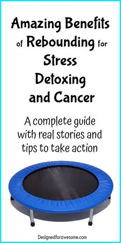 Rebounder Mini-trampoline Detox Prevent and Fight Cancer Real stories fight stress stress management Health Tips, Health And Wellness, Health Fitness, Mini Trampoline Workout, Immune System Boosters, Stomach Ulcers, Coconut Health Benefits, Lymphatic System, All Family