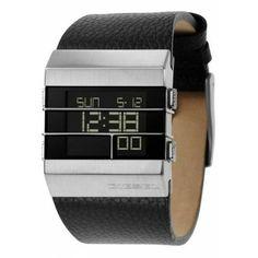 Montre Homme Diesel - DZ7069 - digitale - large bracelet en cuir