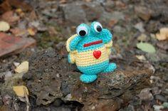 amigurumi crochet monster