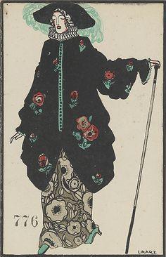 776. Maria Likarz , Wiener Werkstätte postcard