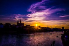 Basel, Celestial, Sunset, Outdoor, Outdoors, Sunsets, Outdoor Games, Outdoor Living