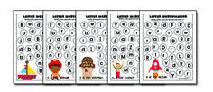 Full Alphabet Letter Identification Printables { Freebies}