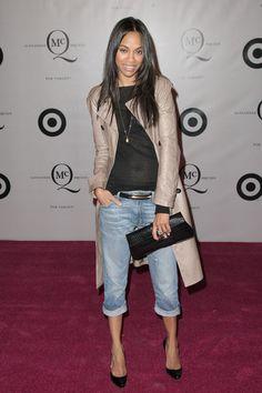 Zoe Saldana - Duplicate: McQ Alexander McQueen for Target Launch Party