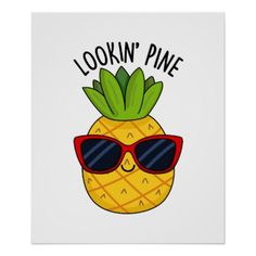 Juice Be Yourself Cute Orange Juice Pun features a fine looking pineapple wearing his really cool sunglasses. Cute Pun gift for family and friends who love pineapples and puns. Cute Food Drawings, Kawaii Drawings, Easy Drawings, Funny Doodles, Cute Doodles, Kawaii Pineapple, Fruit Puns, Humor, Cool Ideas