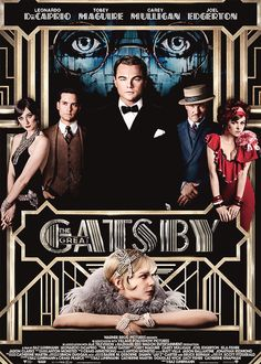 cannot wait!      New official poster for The Great Gatsby    this movie needs to come out already come on i'm dying