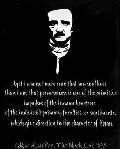 Allan Edgar Poe Inspirational Quotes | edgar allan poe, quotes, sayings, witty, man, men, lives ...