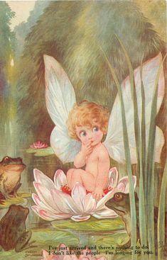 Fred Spurgin postcard