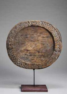 Yoruba Opon Ifa / Circular Tray (Opon Ribiti), Nigeria