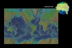 Click on the map of Earth below, and watch as the tectonic plates underlying the continents and oceans come into view. Continue until you see a complete map displaying all of the tectonic plates.