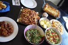 ουζακι στο κυμα - Google Search Tapas, Waffles, Greek, Mexican, Breakfast, Ethnic Recipes, Google, Baby, Food