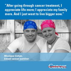Like many cancer patients, Monique Cohen, a mom of three, was initially shocked and scared by her breast cancer diagnosis. But humor and positivity helped the entire Cohen family make it to the other side of cancer treatment with a new appreciation for life. #cancer #breastcancer
