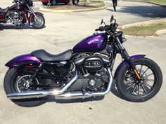Year : 2014 * Make : Harley-Davidson® * Mode l: XL883N - Sportster® Iron 883™ * Family : Sportster * Color : Hard Candy Custom Voodoo Purple Flake