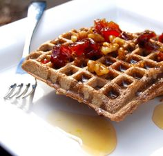 Buckwheat-Brown-Rice Waffles - these are my favourite GF waffles!! Use amaranth instead of brown rice flour.