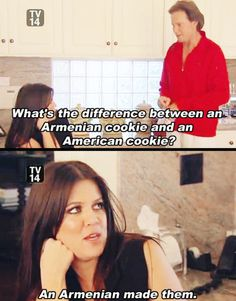 The difference between Armenian cookies and American cookies