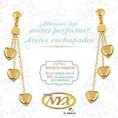 ¡Los aretes perfectos estan en Nyx ! Nuestra tienda:Av. Ejercito 606 Of. 202 Yanahuara.  Consultas y pedidos a: 054 397081 / 968879264