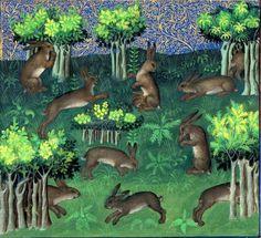 Giardino medievale: codici miniati - Cerca con Google