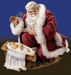 Love -     Google Image Result for http://2.bp.blogspot.com/_JRkgseRT7NY/SyrMJMeNmCI/AAAAAAAAA0c/8v_WTv203_Y/s320/santa%2Bbows%2Bworship%2Bbaby%2Bjesus%2Bchrist%2Bchristmas%2Bhypocrisy%2Bmyth.jpg