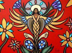 Life Arising by Aaron Paquette - Contemporary Canadian Native, Inuit & Aboriginal Art - Bearclaw Gallery Native American Images, Native American Artists, American Indian Art, Canadian Artists, Kunst Der Aborigines, Nova Era, Vito, Southwest Art, Indigenous Art
