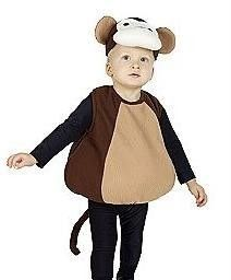 toddler boy costumes nwt curious george monkey halloween costume boy girl toddler 12m 24m 1 - Diaper Costume Halloween