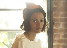 Sunday Suppers' Laila Gohar, as featured by Garance Dore. I love her look of quiet intensity, casual undone-ness combined with attention to detail, and that fabulous hair that I so often covet yet cannot carry to save myself...