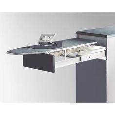 Tabla de planchar extraible para que tengas tu tabla oculta dentro de tus muebles #herrajes #muebles #extraible