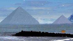 Pesquisadores descobrem três antigas piramides na Antártida após derretimento de gelo