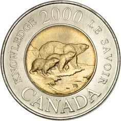 Canada 2-DOLLARS (KM399) Canadian Penny, Canadian Coins, Canadian Dollar, Rare Coins Worth Money, Valuable Coins, Two Dollars, Coin Display, Rare Stamps, Coin Worth