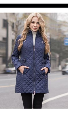 MS VASSA Women Parkas 2018 Winter Autumn New casual Jackets Ladies Padded  coats long quilted outerwear 9aa5459bc9f2